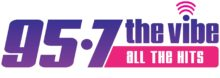 95.7 The Vibe, all the hits